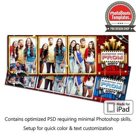 Hollywood Stars Postcard (iPad)