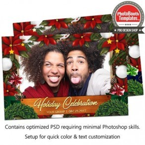 Holiday Celebration Single Postcard