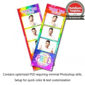 Radiant Rainbow 3-up Strips