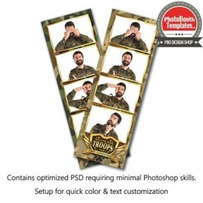 Military Honor 4-up Strips
