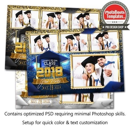 Graduation Glam Postcard 1