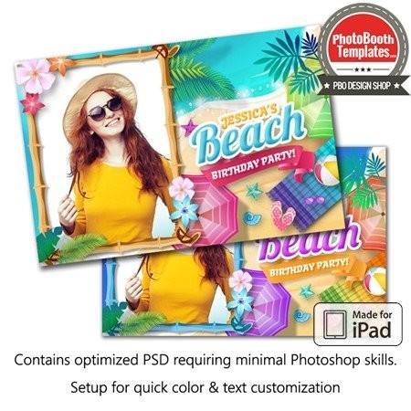 Ultimate Beach Party Postcard (iPad) 1