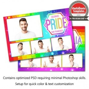 Radiant Rainbow Postcard