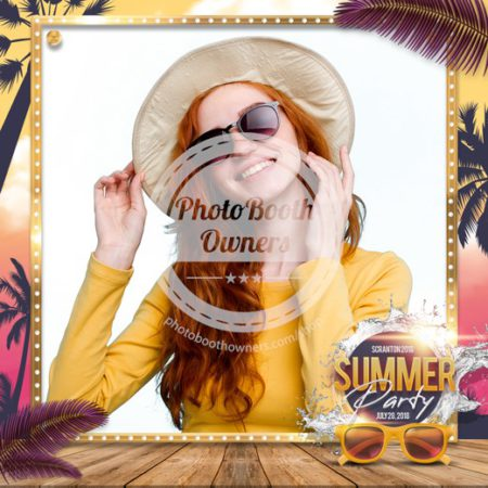 Beach Party Glam Square (iPad)