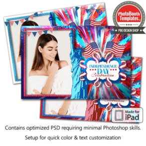 American Celebration Postcard (iPad)