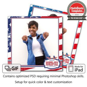 Stars and Stripes Square (iPad)