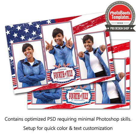 Stars and Stripes Postcard 1