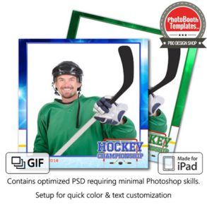 Hockey Celebration Square (iPad)