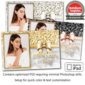 Holiday Sparkle Postcard (iPad)