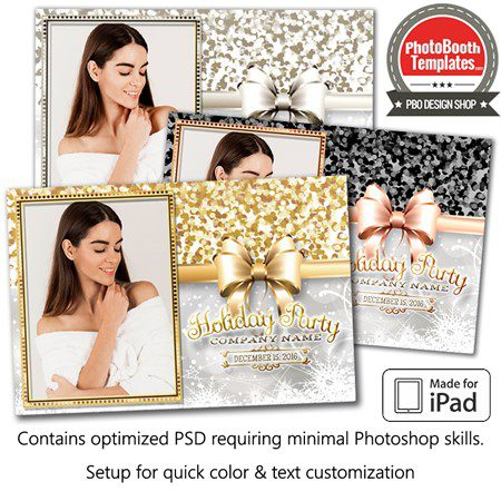 Holiday Sparkle Postcard (iPad) 1