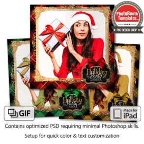 Holiday Flannel Square (iPad)