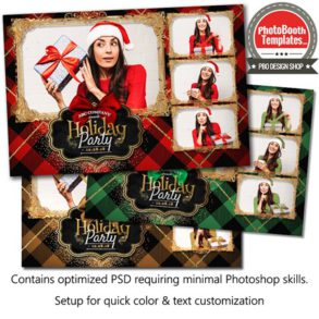 Holiday Flannel Postcard
