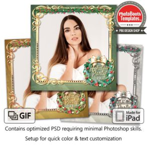 Holiday Wreath Square (iPad)