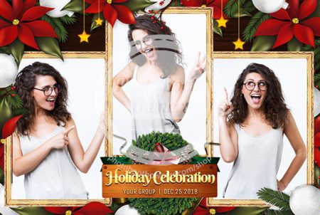 Holiday Celebration Postcard