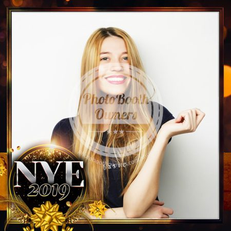 Golden New Year Eve Square (iPad)