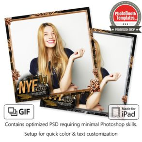 Glamour New Year Party Square (iPad)