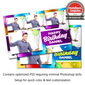 Celebration Balloons Postcard