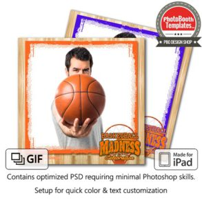 Basketball Madness Square (iPad)