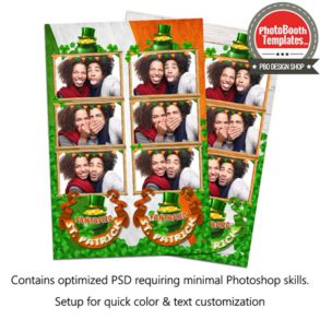 Fantastic St. Patrick Bash 3-up Strips
