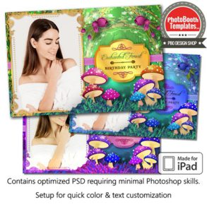 Enchanted Forest Postcard (iPad)