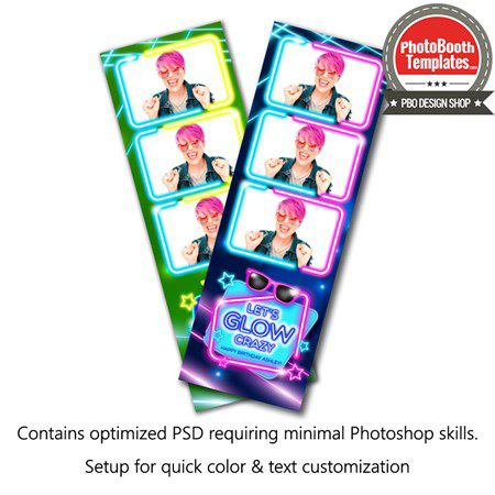 Glow Party 3-up Strips 1