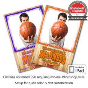 Basketball Madness Portrait (iPad)
