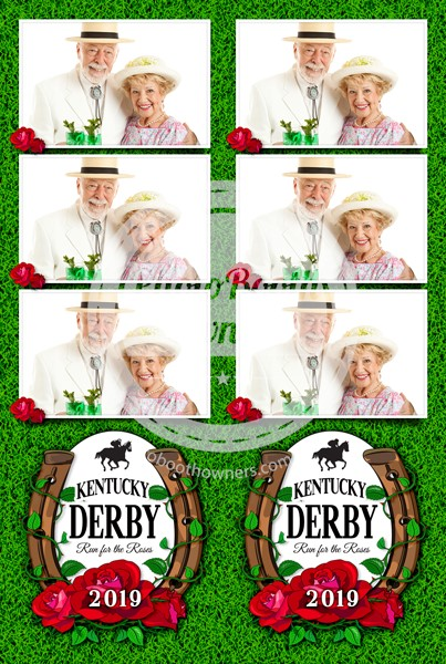 Derby Celebration 3-up Strips