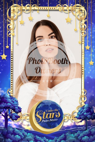 Moon and Stars Celebration Portrait