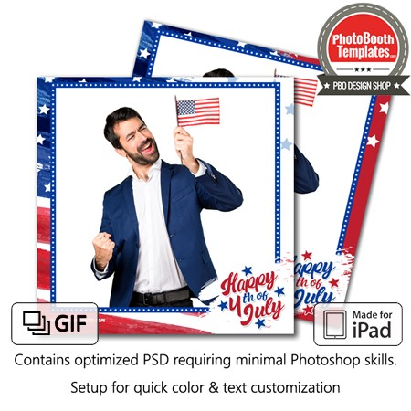 Old Glory Square (iPad) 1