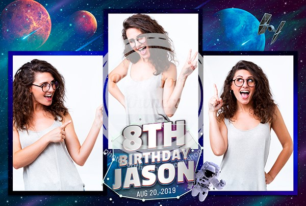 Astronout Birthday Bash Postcard