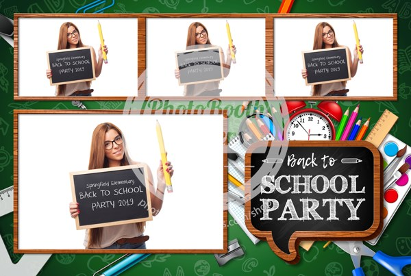 School Celebration Postcard