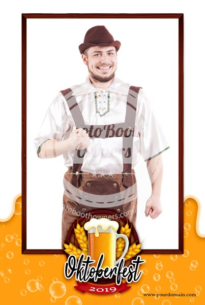 Beer Celebration Portrait