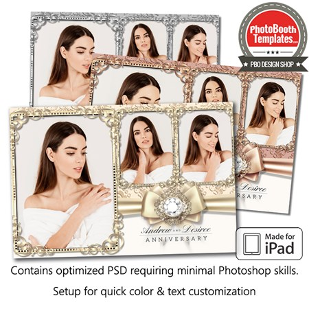 Luxurious Bling Postcard (iPad)