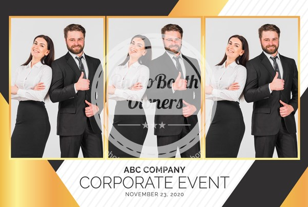 Corporate Celebration Postcard
