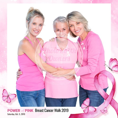Breast Cancer Awareness Event Square (iPad)
