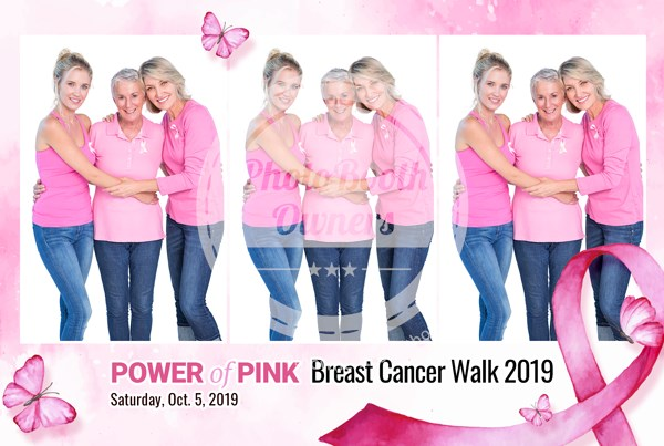 Breast Cancer Awareness Event Postcard