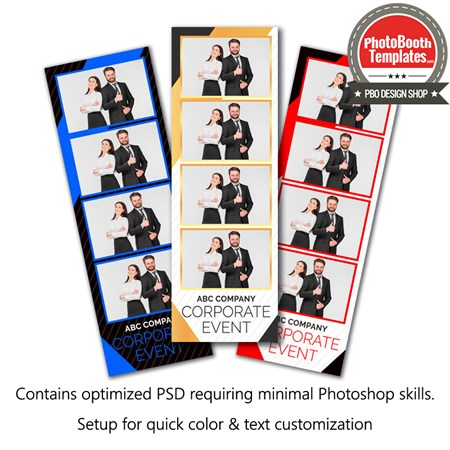 Corporate Celebration 4-up Strips