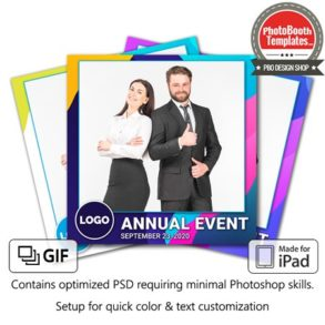 Abstract Formal Celebration Square (iPad)