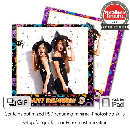 Halloween Festive Square (iPad) 1