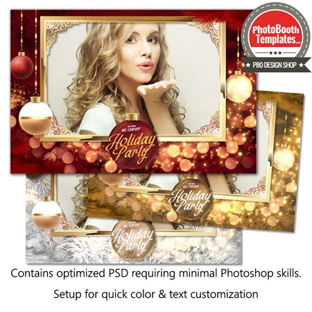 Christmas Ornament Glam 1