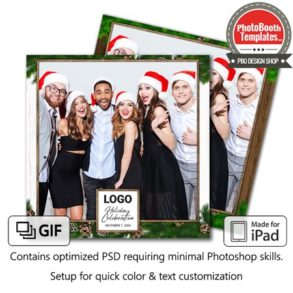 Rustic Holiday Celebration Square (iPad)