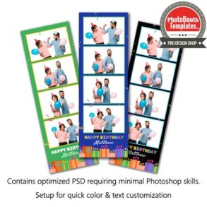 Gifted Celebration 4-up Strips