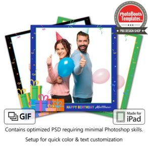 Gifted Celebration Square (iPad)