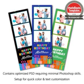 Gifted Celebration 3-up Strips