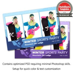 Snowboard Celebration Postcard