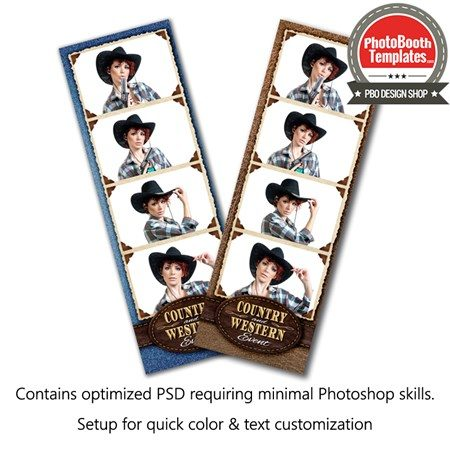 Western Style 4-up Strips 1