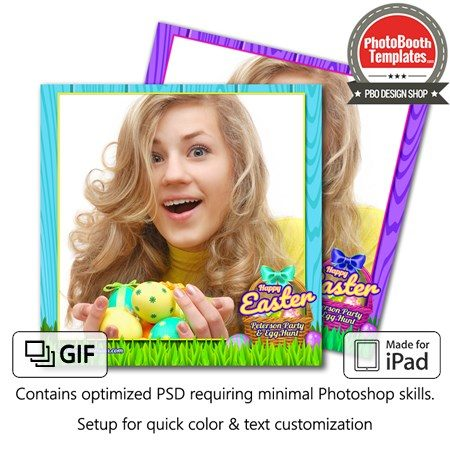 Easter Basket Celebration Square (iPad) 1