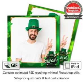 St. Patrick's Pot of Gold Square (iPad)