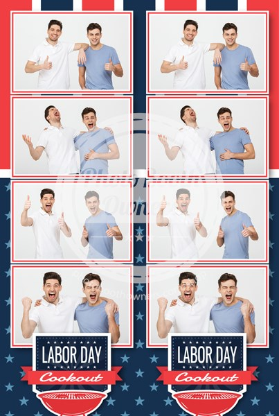 American Event 4-up Strips