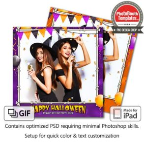 Halloween Party Square (iPad)
